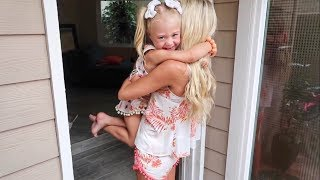 WE'RE FINALLY BACK WITH EVERLEIGH!!! (SURPRISING HER)
