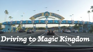 driving to walt disney world   magic kingdom   us 27 hwy 192 osceola parkway   fl attractions 360