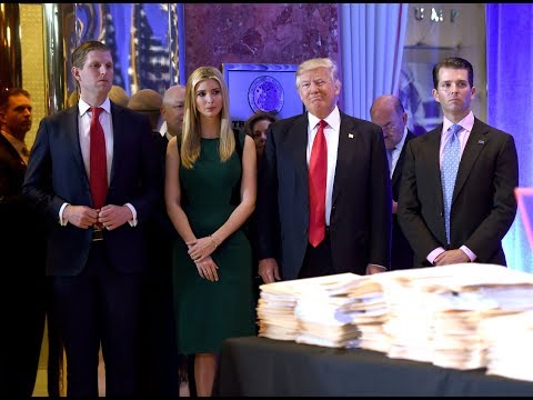 Trump and his children accused of using charitable foundation 'like a piggy bank'