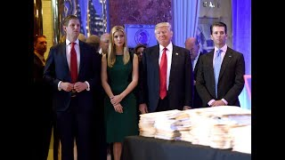 Trump and his children accused of using charitable foundation