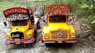 Scale model tata lorry in Kerala 1210se and 1613se