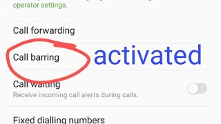 Activate call barring in any mobile latest 2018 thumbnail