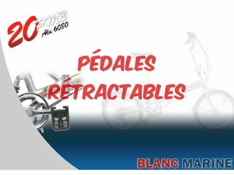 Vélo pliant Blanc Marine 20pm3 thumbnail