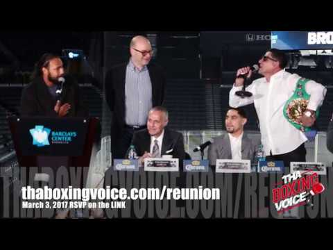 Keith Thurman vs. Danny Garcia #GarciaThurman Full Press Con