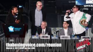 Keith Thurman vs. Danny Garcia #GarciaThurman Full Press Conference #ThurmanGarcia