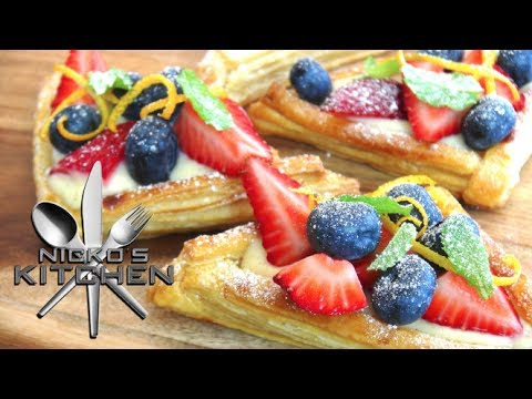 Custard Fruit Tarts - Video Recipe
