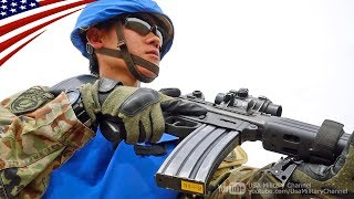 陸上自衛隊・中央即応連隊のPKO訓練 in モンゴル - カーンクエスト2018