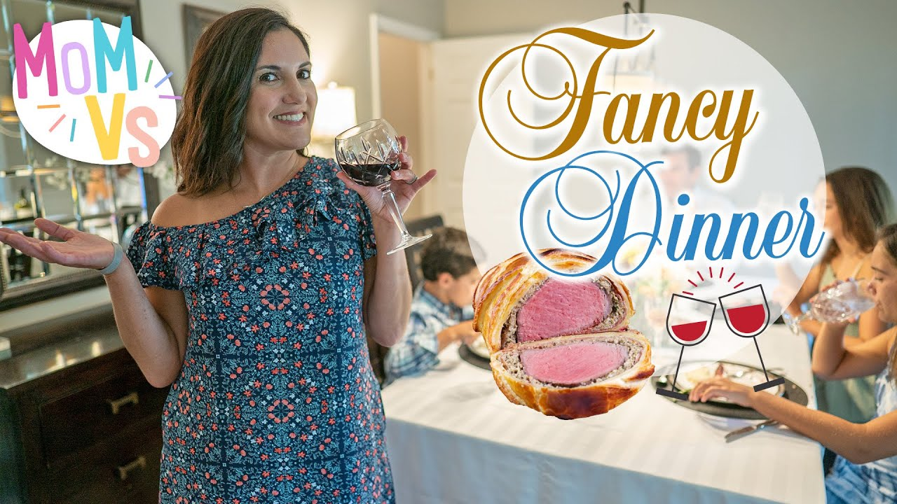 This is How You Make a Fancy Family Dinner at Home | How to Make Beef Wellington | Mom Vs