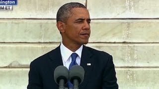 RAW: President Obama speaks at the March on Washington anniversary