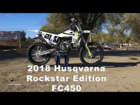 2018 Husqvarna Rockstar Edition FC450 - Dirt Bike Magazine