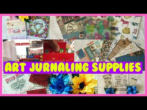ART JOURNALING SUPPLIES HAUL || Candy's Rouge