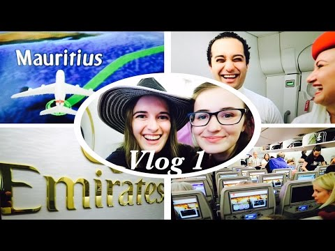 EPIC TRAVEL DAY FLYING EMIRATES TO MAURITIUS!! Vlog 1