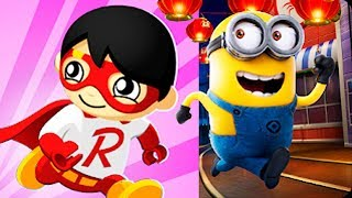 Tag with Ryan PILOT vs HUNTER Despicable Me Minion Rush Gameplay FHD (Android/iOS)