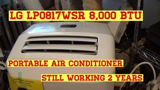 LG LP0817WSR 8,000 BTU Portable Air Conditioner