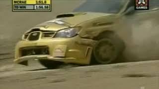 wmsm s 2006 X Games Rally Car Racing SSS Colin McRae a