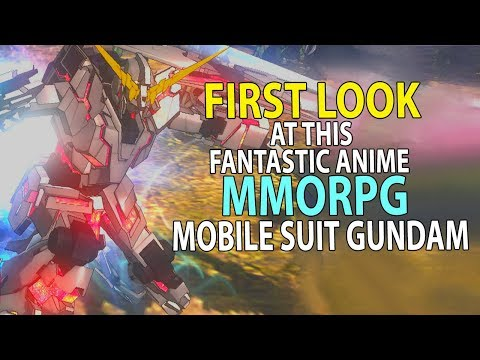 Mobile Suit Gundam Online - First Look At This Amazing F2P Anime MMORPG!