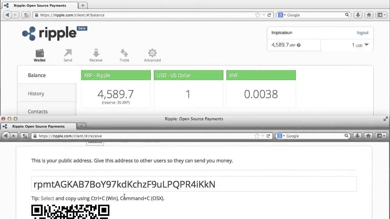 cryptocurrency desktop wallet ripple