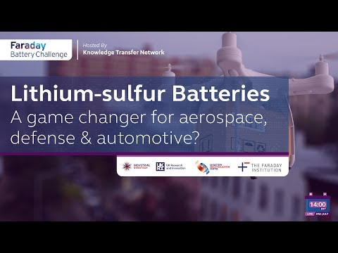 Lithium-sulfur batteries: a game changer for aerospace, defense and automotive?