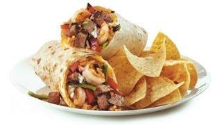 Baja Fresh Steak & Shrimp Ultimo Burrito Review