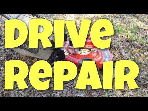 Toro Self propelled personal pace drive repair
