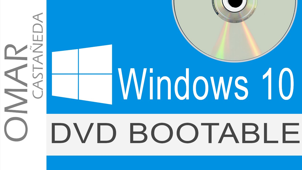 how to make a bootable windows 10 dvd on mac