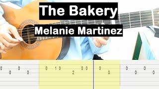The Bakery Guitar Tutorial (Melanie Martinez) Melody Guitar Tab Guitar Lessons for Beginners