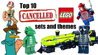 Top 10 Cancelled LEGO Sets and Themes!