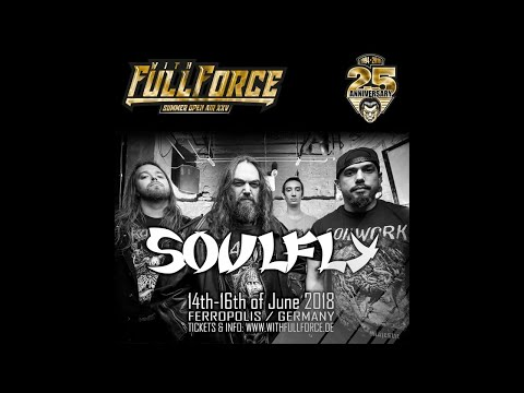 SOULFLY live at With Full Force Festival 2018 in Gräfenhainichen, Germany