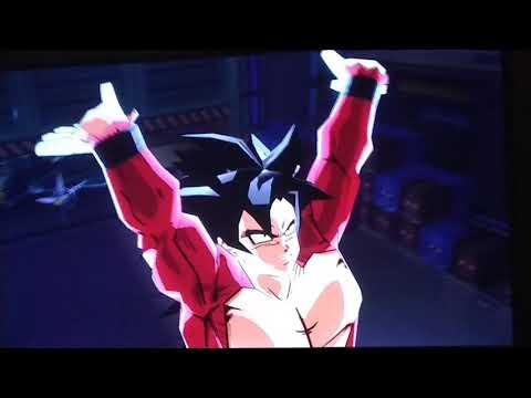 DBZ Budokai 3 XBOX 360 Goku Super Dragon Fist