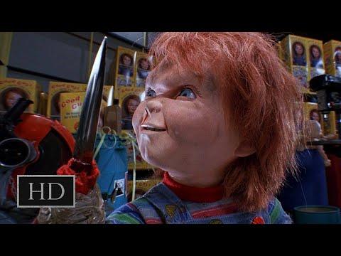 Детские игры 2 (1990) - Чаки отрывает свою руку