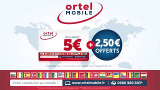 Ortel Mobile France Extra Top up Promo
