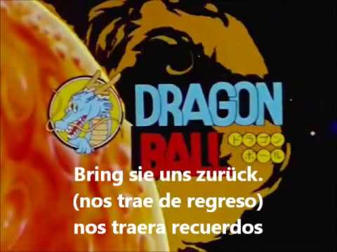 dragon ball opening aleman german deutsch sud español