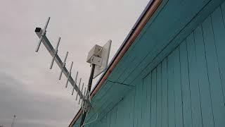 Антенны GSM и 3G на одной мачте