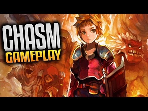 Chasm Gameplay - Awesome Upcoming Metroidvania (Let's Play Chasm Gameplay Livestream Footage)