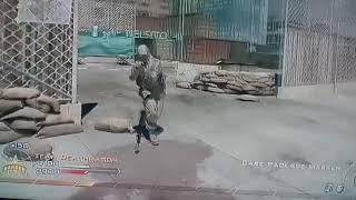 jugando duelo por equipos en call of duty modern warfare 2