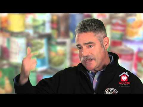We CARE San Diego Coalition Member - San Diego Food Bank - Jim Floros