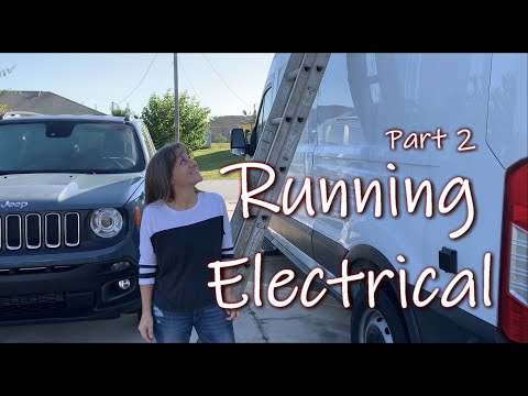 Van Conversion: Mounting Solar and Electrical Components | DIY Campervan Electrical System Part 2