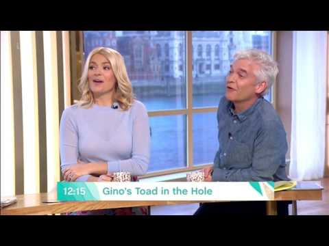Holly Willoughby Gino Sausage In The Hole 2017 03 06