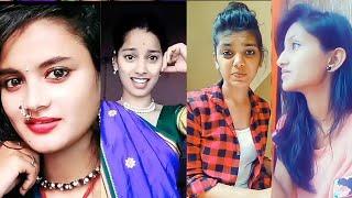 full comedy Marathi tiktok comedy video मराठी कॉमेडी cute girls tik tok video by AmazingCreator