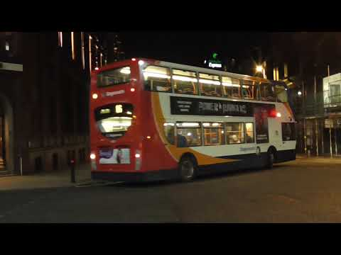 Stagecoach and First Bus Manchester