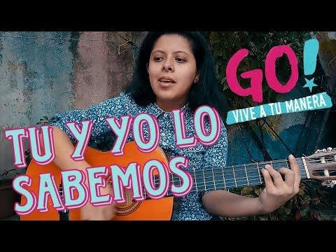 TU Y YO LO SABEMOS - GO VIVE A TU MANERA | Tutorial Guitarra | Emma thumbnail