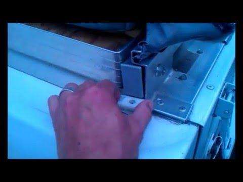 Coleman Popup Camper Bed Slide YouTube