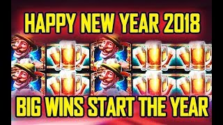 🎉HAPPY NEW YEAR 2018🎉 - LET ME EXPLAIN - LOL⁉️ - BIG WINS START THE YEAR!
