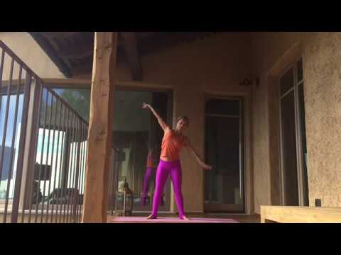 yin yang yoga standing sequence for better balance  youtube