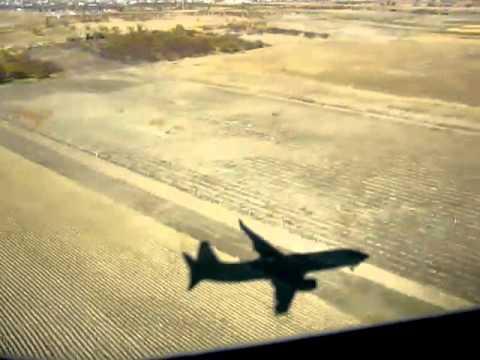 Landing At Yerevan Zvartnots Airport, Flydubai