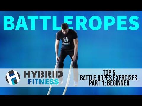 Top 5 Battle Ropes Exercises Part 1: Beginner