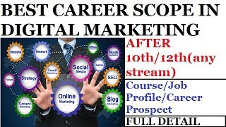 CAREER IN DIGITAL MARKETING | BEST COURSE AFTER 10th /12th | Course | Job Profile | Career Prospect