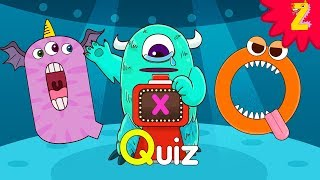 I am Q! Monster Alphabet Letter I Song l Phonics for kids l ZooZooSong!