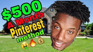 CPAGRIP $500 A MONTH PINTEREST METHOD | CPA MARKETING PINTEREST