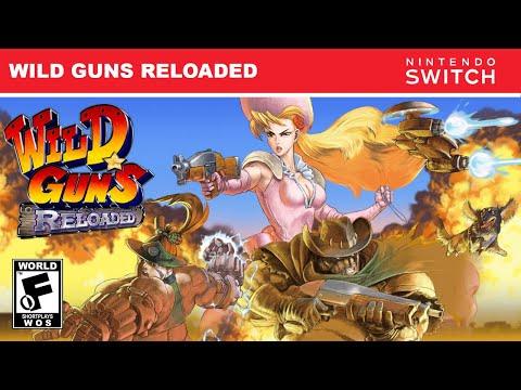 WILD GUNS RELOADED (NINTENDO SWITCH) SHORTPLAY | WORLD OF SHORTPLAYS |